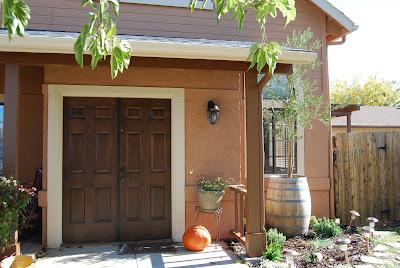 Revamped Home Furnishings More Faux Wood Doors