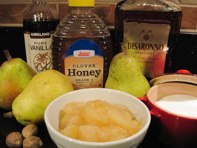 Chunky Pear Sauce Recipe
