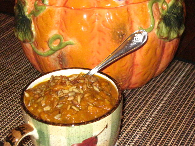 Pumpkin Chicken Chowder Recipe