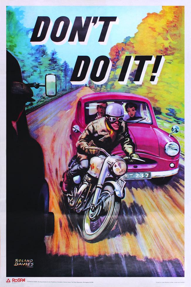 osylph stripes vintage road safety posters