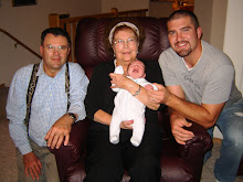 great gran, grandpa, daddy and kaleb