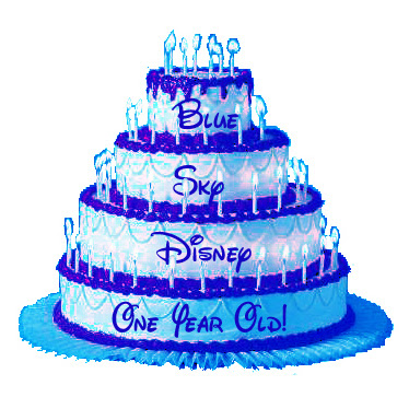 Blue Sky Disney turned one
