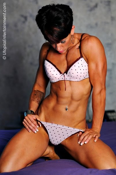 Allison moyer muscle babe pity, that