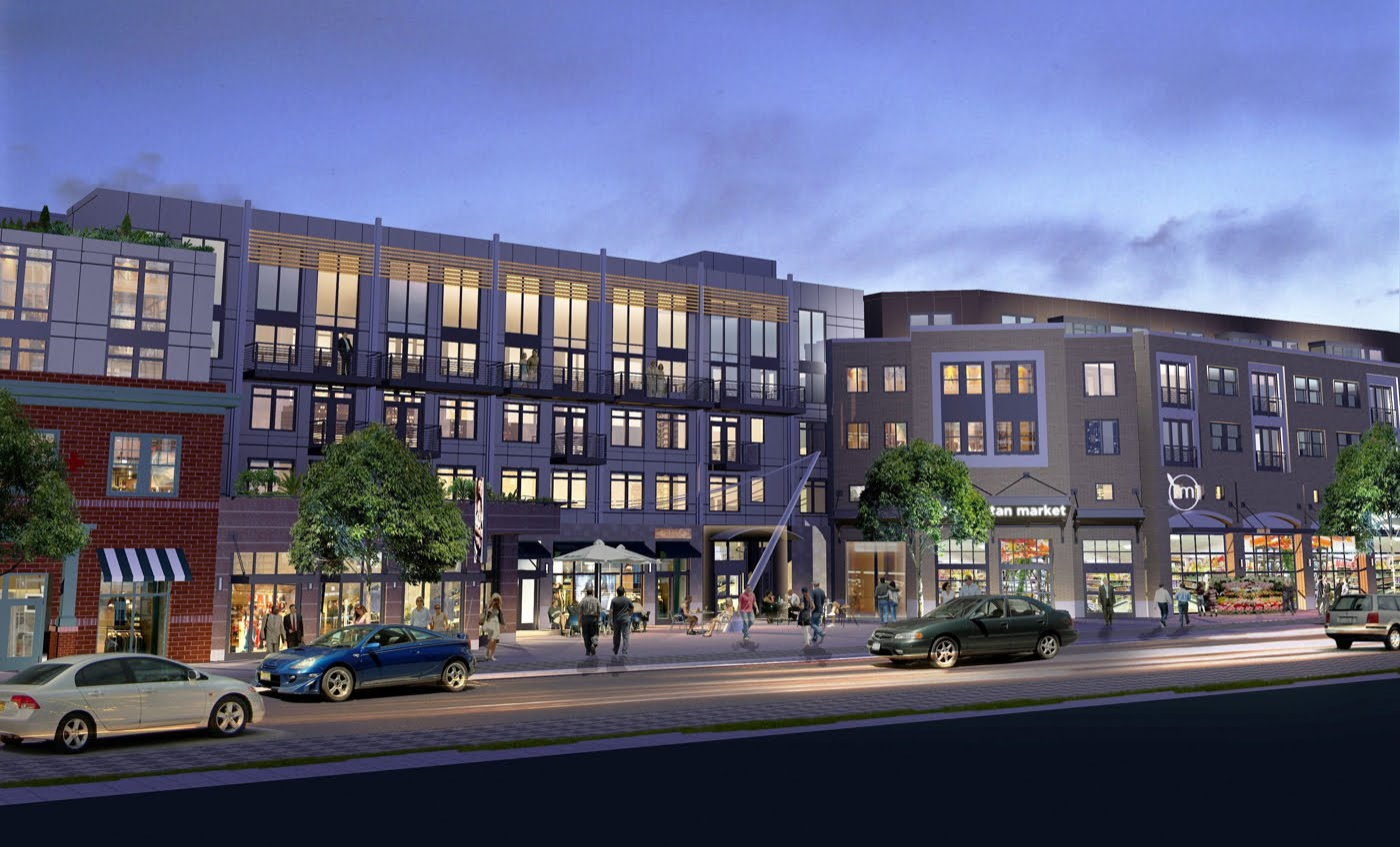 mixed development Building type: mixed use residential & commercial location: detroit, michigan, usa client: harmoine park holdings, llc floor area: 43,200 sqft / 4,013 sqm (7.