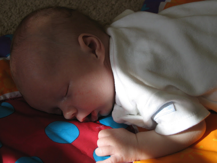 Joseph sleeping after playtime