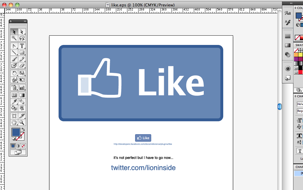 Facebook Like Button Download Vector Der Facebook Like Button Als