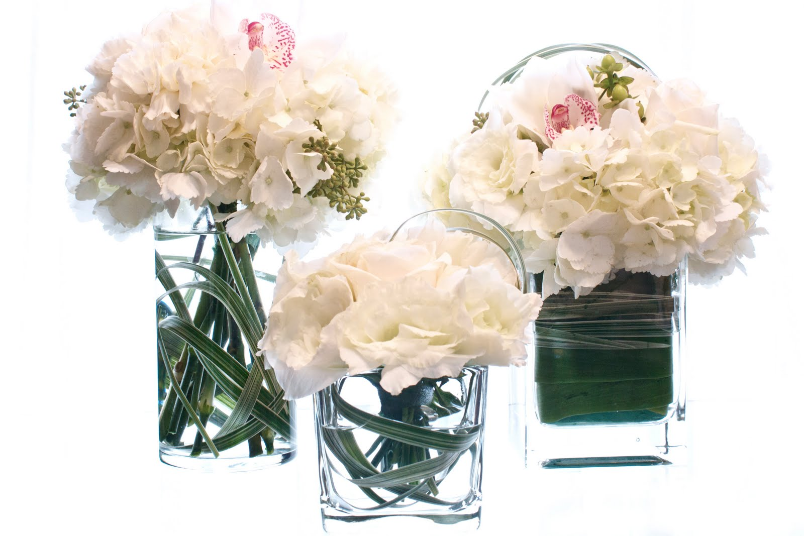 WHOLESALE GLASS VASES | WEDDING CYLINDER BLOCK GLASS VASE | GLASS
