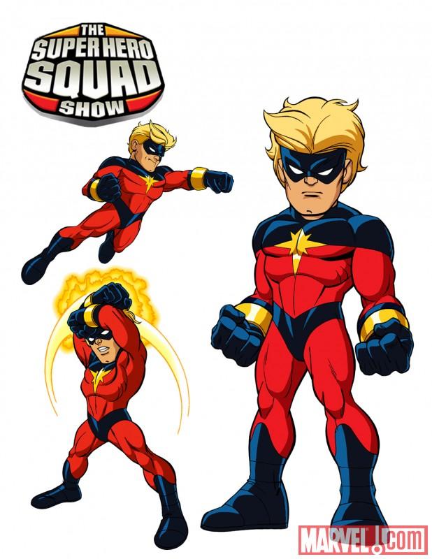 Captain Marvel Super Hero Squad Show