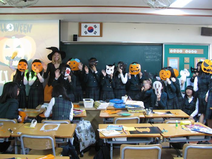 Halloween In Korea!