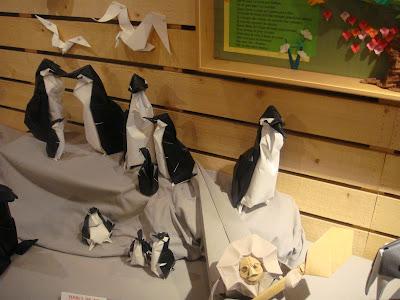 pingouin origami