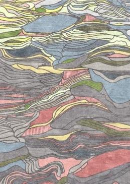 Liz Eeuwes Landscape rug