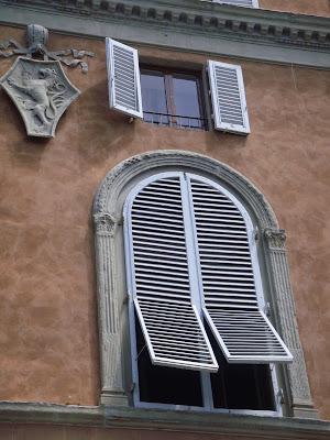Les volets de Toscane