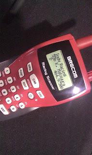 Psr-110 race scanner