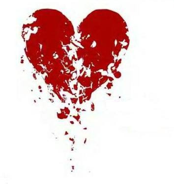 shattered heart