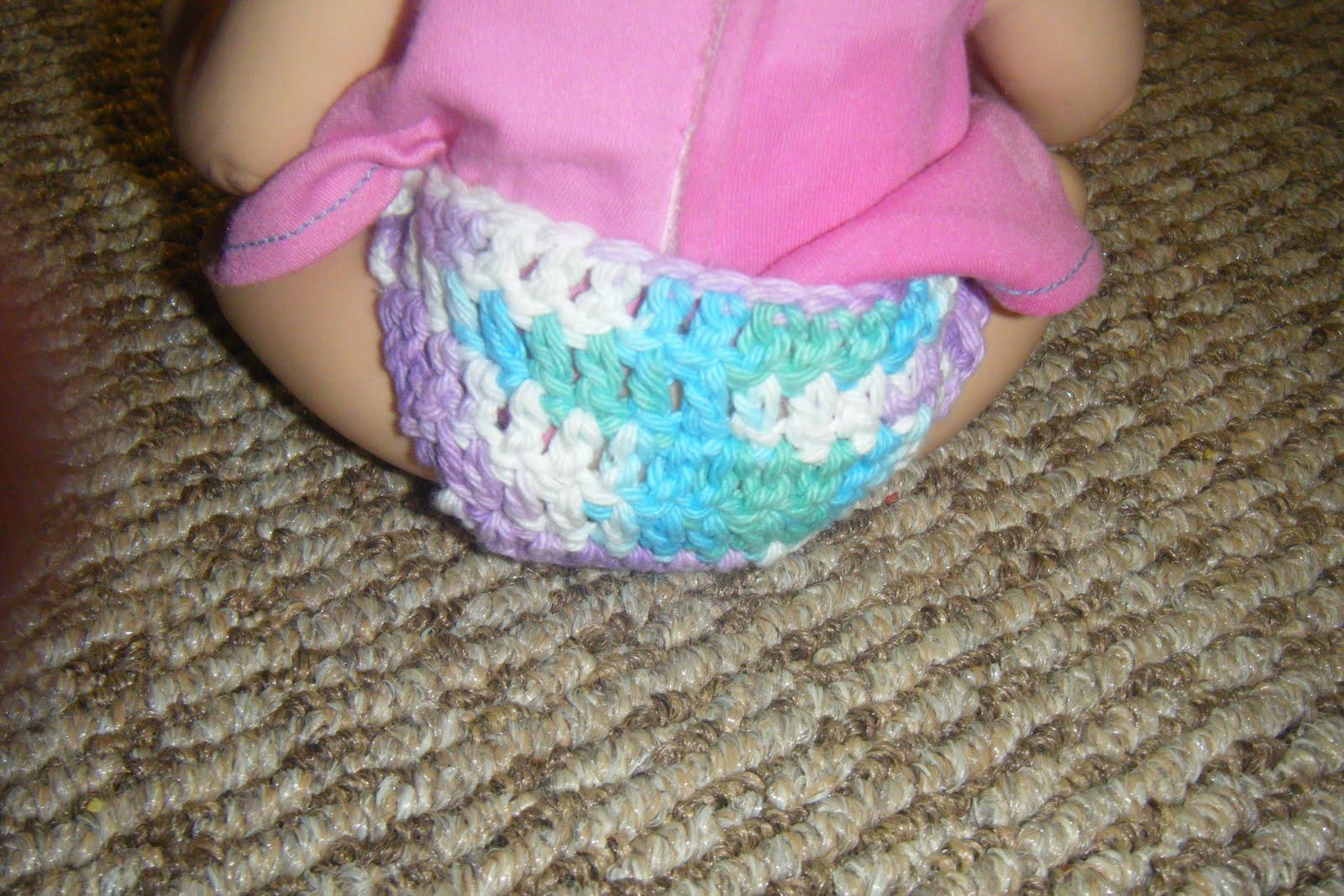 Crochet Pattern For Doll Diaper : The Craftivist: Free Crochet Pattern