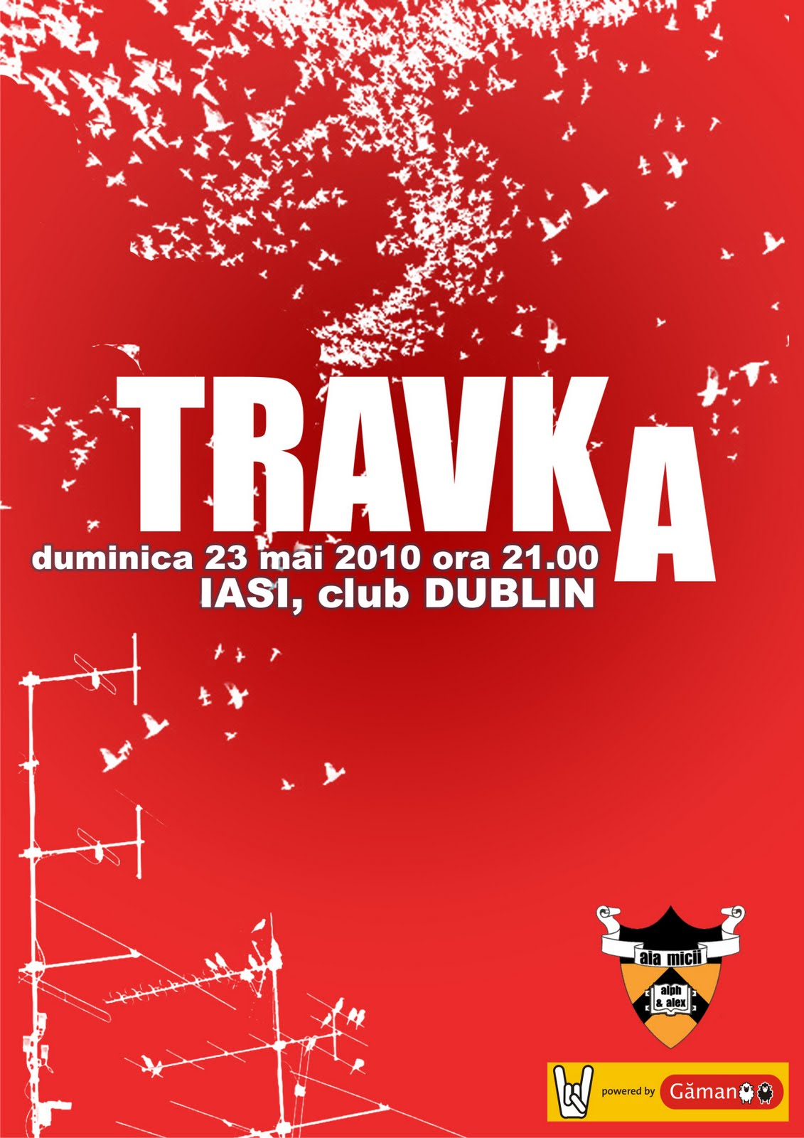 Concert TRAVKA in Iasi AFIS+TRAVKA