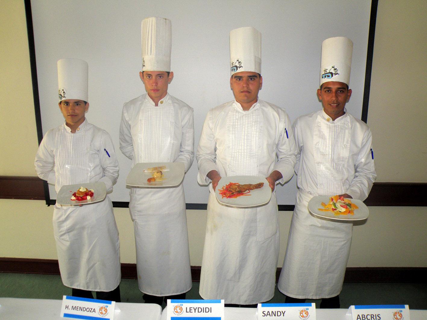 Sena Cundinamarca: Aprendices de Cocina obtuvieron el segundo lugar ...