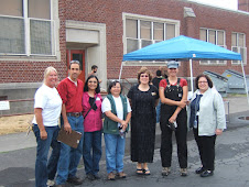 Vestal Staff and PPS Board Members at Depave Event.