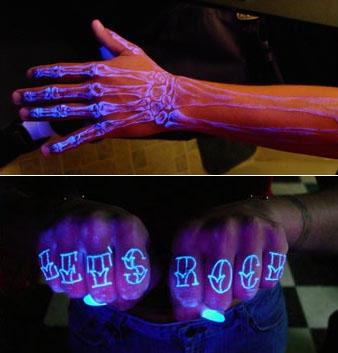 uv ink tattoos