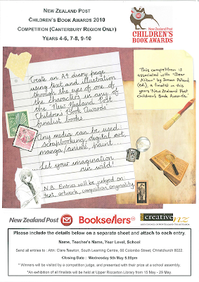 Childrens book competition new zealand