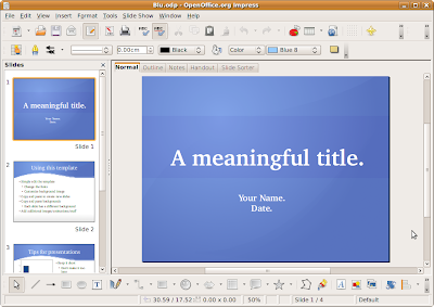 Openblu a presentation theme for openoffice impress ibm - Free download open office org for windows 7 ...