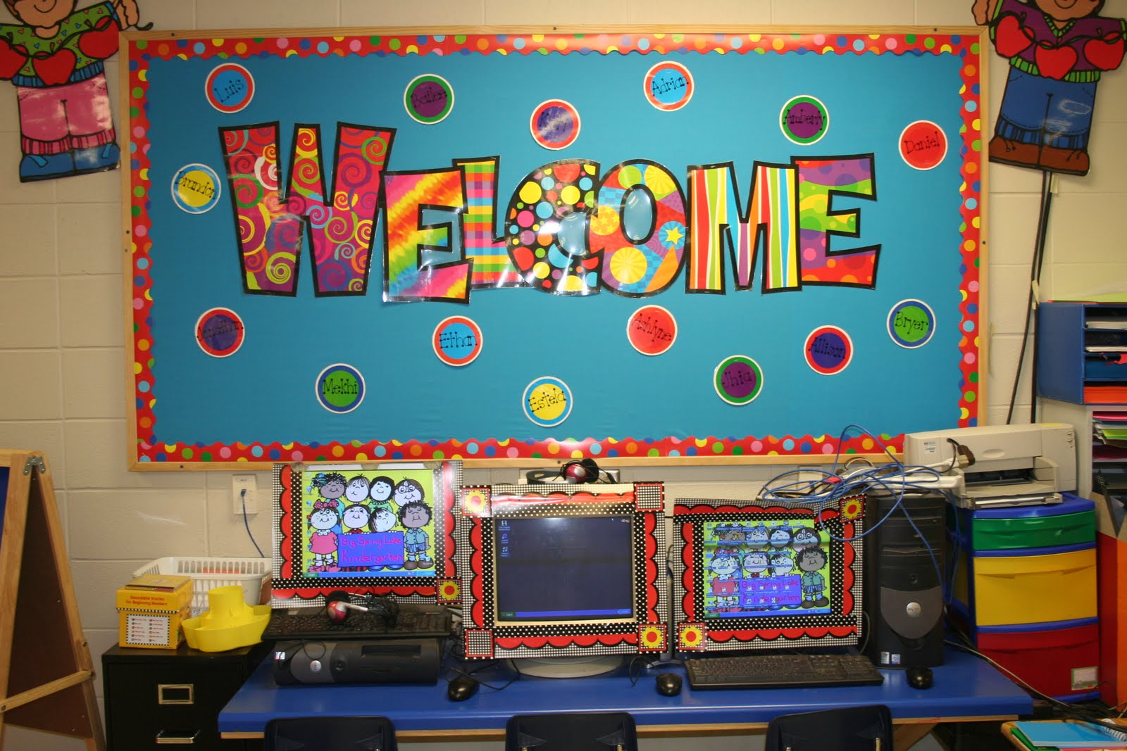 Classroom Decorating Ideas Elementary ~ Mrs lee s kindergarten my classroom