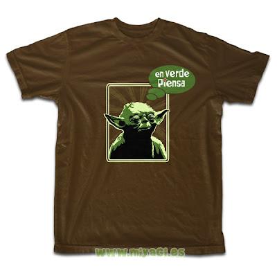 Camiseta de la semana: En verde piensa