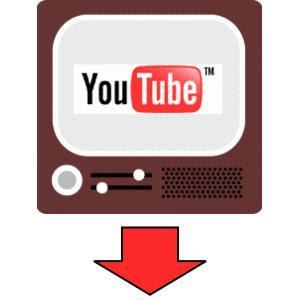 Logo de bajar YouTube