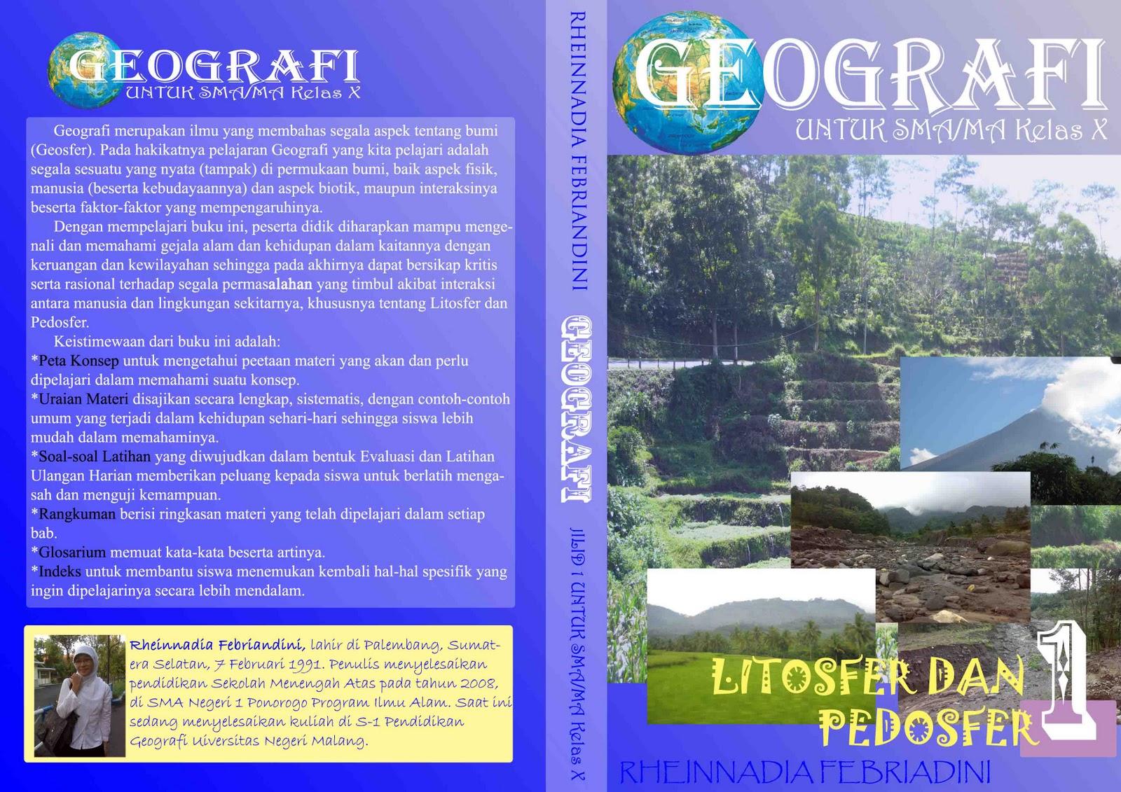 Rheinnadia in Geography: Layout Buku Geografi: Bab III