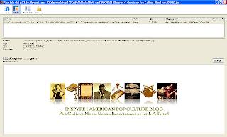 Screenshot of Enspyre 1 American Pop Culture Blog