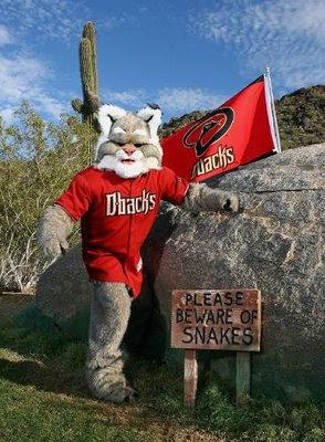 MLB Baseball Mascots: D. Baxter the Bobcat Arizona ...