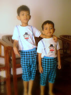 Brothers Hafidz and Harith