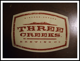 Three Creeks Brewery Sticker