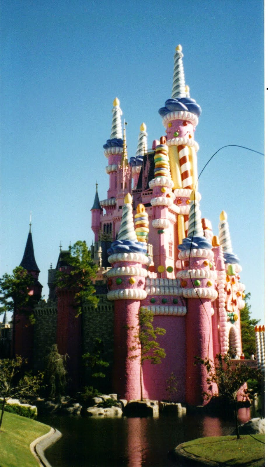 Birthday Cake Castle Disney Disney has done some odd things over the years but this has to rank up there ...