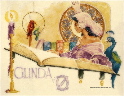 Glinda of Oz art