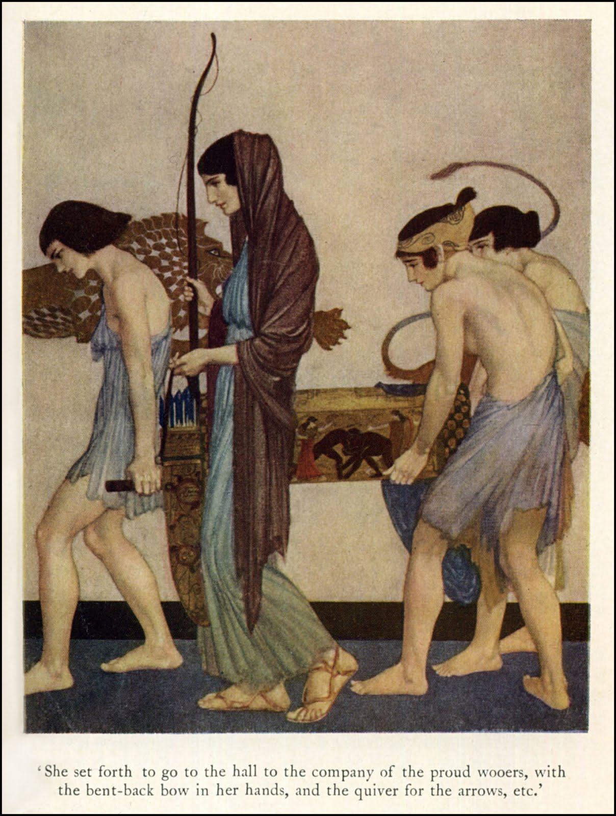 an examination of the women in the odyssey Epic poems reflect a culture's values the female characters in homer's poem, the odyssey, reflect the ancient greek values of helpfulness, loyalty and cleverness.