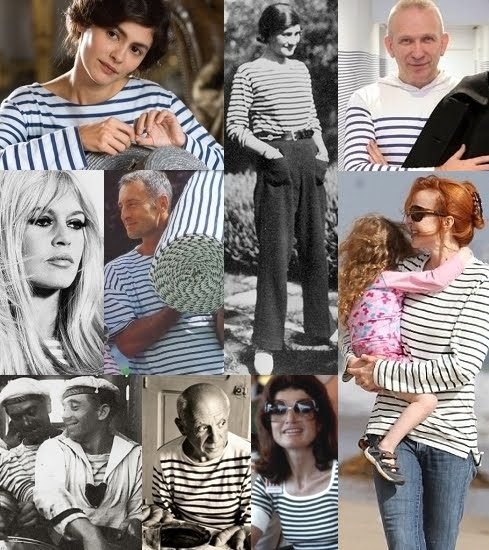 Beatrice bobs her hair the simple striped sea shirt for Striped french sailor shirt