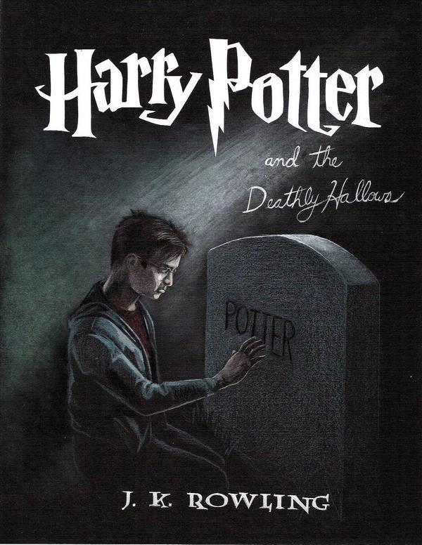 harry potter and the deathly hallows dvd cover art. harry potter 7 dvd label.