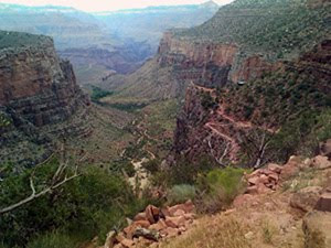 Discesa nel Grand Canyon