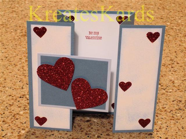 kreateskards tri fold gate card tutorial