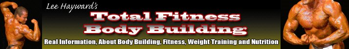 Lee Hayward's Total Fitness Bodybuilding Blog