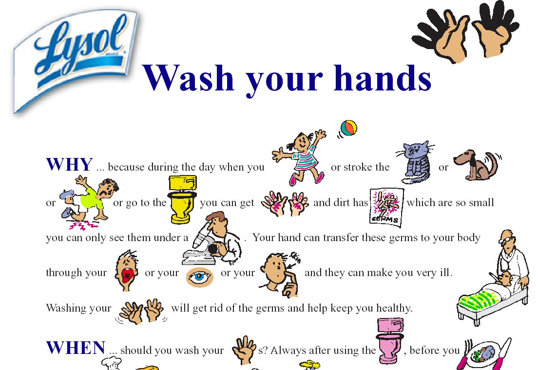 Ways to protect your health 1 wash your hands often especially after