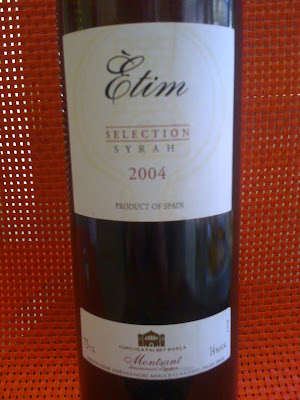 Ètim Selection Syrah 2004