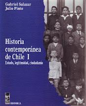 "SALAZAR: ""Historia contemporánea de Chile""."