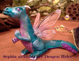 OOAK Sephia baby dragon