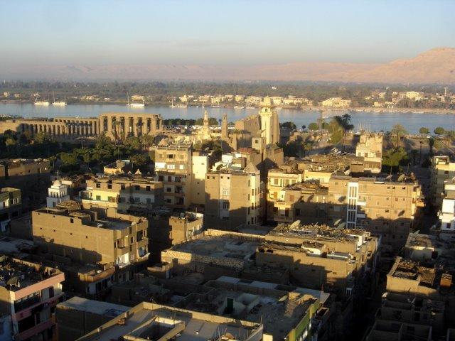 Luxor, Templo de Luxor y Nilo.