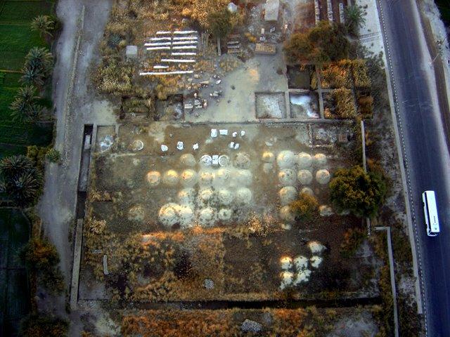Emplazamiento del templo de los Colosos.