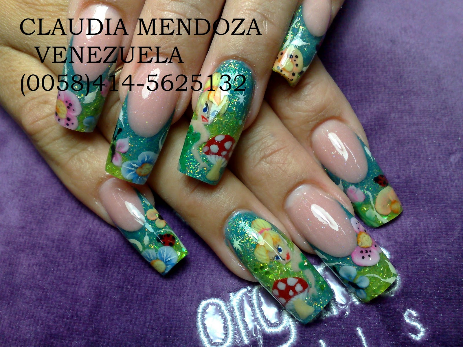 DECO NAILS, C.A: GALERIA CLAUDIA MENDOZA