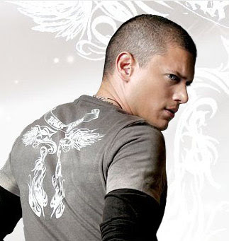 Wentworth Miller's Buzz Haircuts