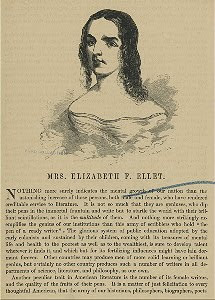 Elizabeth F. Ellet and Edgar Allan Poe